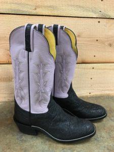 Unique color for boots- Lavender!