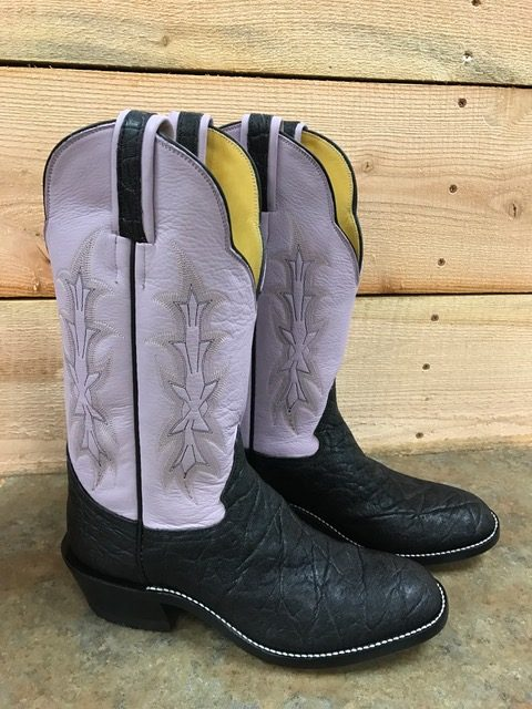 Unique color for boots- Lavender!
